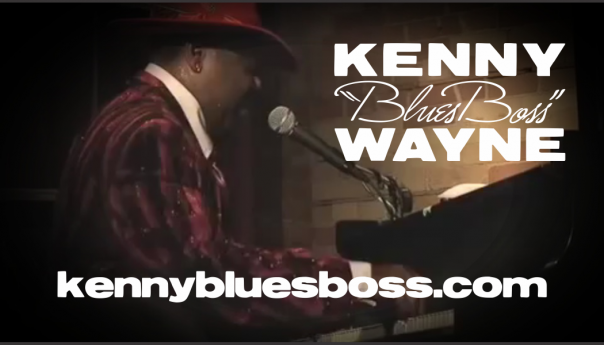 Kenny Blues Boss Wayne Business Card